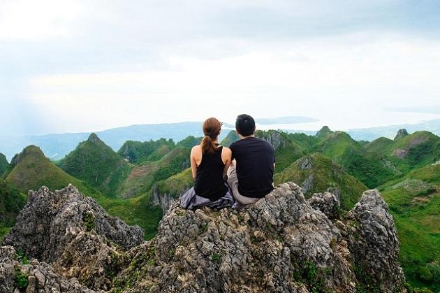 Đã mắt ngắm các ngọn núi hùng vĩ ở Philippines