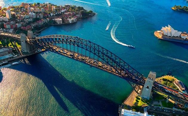 Những không gian xanh tuyệt vời ở Sydney