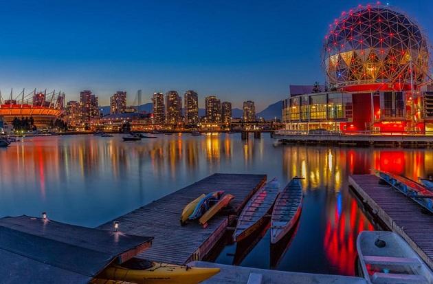 Hòa mình vào những không gian xanh ở Vancouver