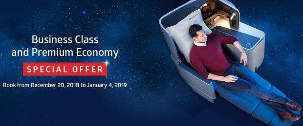 Philippines Airlines khuyến mãi đặc biệt cho vé hạng Thương gia khởi hành từ TP.HCM
