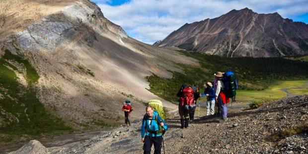 Núi đá Rockies thách thức thế giới