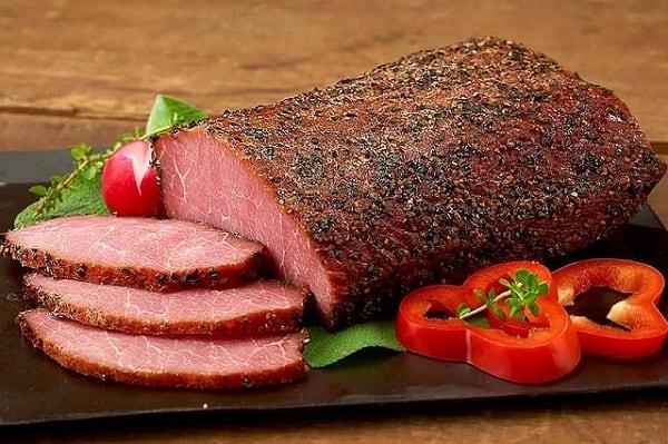 Thịt xông khói kiểu Canada