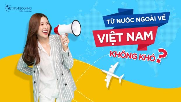 Chuyến bay từ Mỹ về Việt Nam
