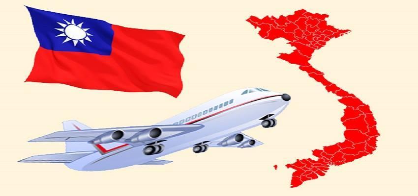 Cập nhật chuyến bay từ Đài Loan về Việt Nam mới nhất