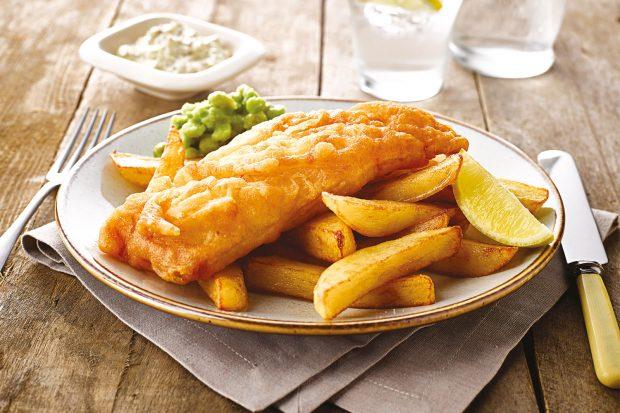 Fish and chips - món ăn đặc trưng của Anh