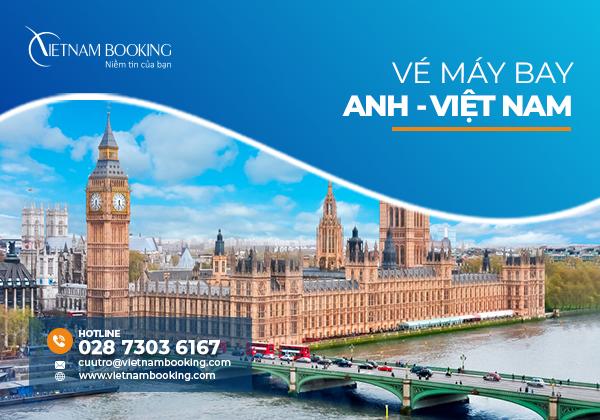Chuyến bay từ Anh về Việt Nam mới nhất là khi nào?