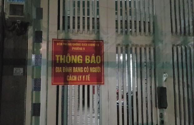 quy trình cách ly tại khách sạn cách ly ở Việt Nam